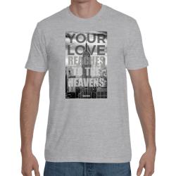 tricou crestin YourLove - CMKYLgri- NOU