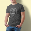 Tricou mesaj crestin Strong and Courageous - cod CMKSCgri