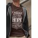 Tricou cu mesaj crestin In Christ Alone - cod cmkCA