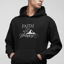 Hanorac mesaj crestin Faith can move mountains 2