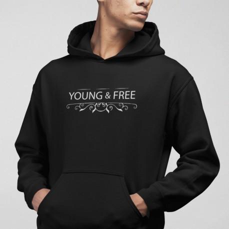 Hanorac mesaj crestin Young and Free